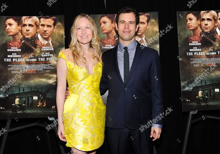 """Producers Lynette Howell and Alex Orlovsky attend the premiere of Focus Features' """"The Place Beyond The Pines"""" at the Landmark Sunshine Theater on in New York"""