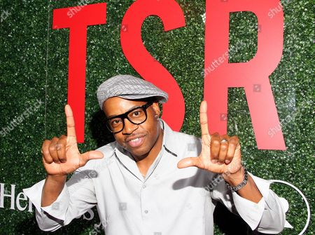 """Hip Hop artist Dana Dane seen at The Shade Room's """"Shades of Eden"""" 1st Anniversary Celebration at a private mansion on Saturday, June 4th, 2016, in Los Angeles, California"""