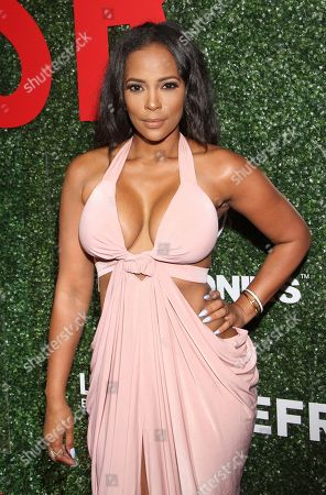 """Stock Photo of Sundy Carter seen at The Shade Room's """"Shades of Eden"""" 1st Anniversary Celebration at a private mansion on Saturday, June 4th, 2016, in Los Angeles, California"""