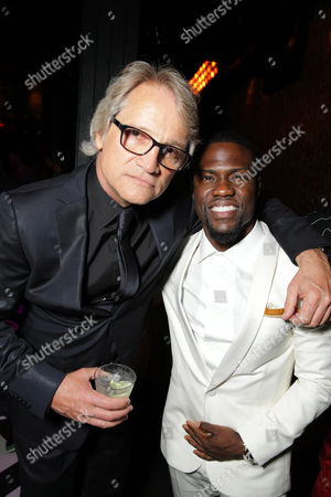 Screen Gem's Clint Culpepper and Kevin Hart seen at the The World Premiere of Screen Gems' 'Think Like a Man Too' on in Los Angeles