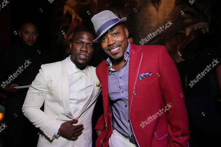 Kevin Hart and Producer William Packer seen at the The World Premiere of Screen Gems' 'Think Like a Man Too' on in Los Angeles