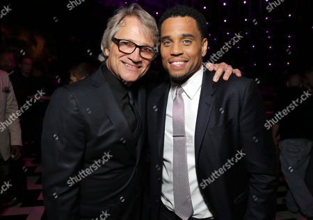 Screen Gem's Clint Culpepper and Michael Ealy seen at the The World Premiere of Screen Gems' 'Think Like a Man Too' on in Los Angeles