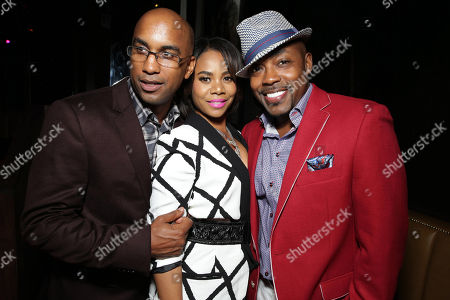 Director Tim Story, Regina Hall and Producer William Packer seen at the The World Premiere of Screen Gems' 'Think Like a Man Too' on in Los Angeles