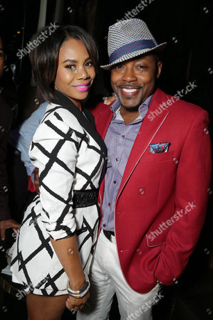 Regina Hall and Producer William Packer seen at the The World Premiere of Screen Gems' 'Think Like a Man Too' on in Los Angeles