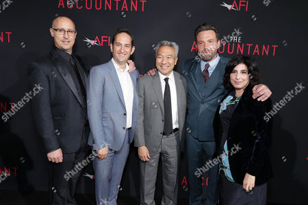 """Editorial image of The World Premiere of Warner Bros. Pictures' """"The Accountant"""" to benefit the American Film Institute, Los Angeles, USA - 10 Oct 2016"""