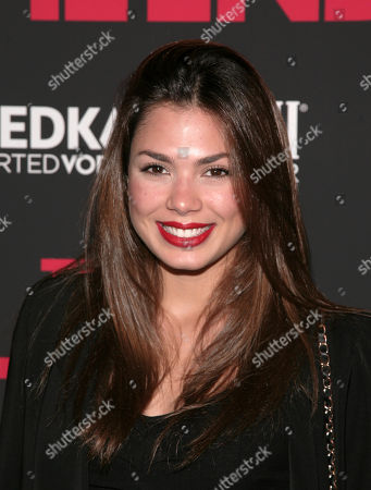 """Fashion model Amanda Faical attends a screening of """"This Is The End"""" presented by FIJI Water and SVEDKA Vodka, on in New York"""