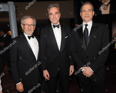 Stock Image of Director Steven Spielberg, Daniel Day-Lewis and Time magazine's managing editor Rick Stengel Rick Stengel attend the TIME's 100 Most Influential People in the World Gala on Tuesday, April, 23, 2013 in New York City, New York