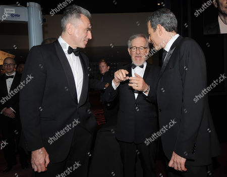 Stock Photo of Director Steven Spielberg, Daniel Day-Lewis and Time magazine's managing editor Rick Stengel Rick Stengel attend the TIME's 100 Most Influential People in the World Gala on Tuesday, April, 23, 2013 in New York City, New York
