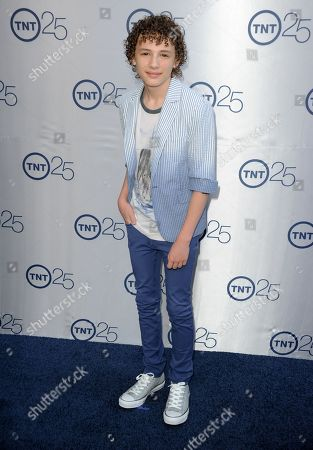Maxim Knight arrives at the TNT 25th Anniversary Party at The Beverly Hilton Hotel on in Los Angeles