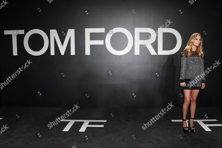 Dylan Frances Penn arrives at the Tom Ford Autumn/Winter 2015 Womenswear Presentation at Milk Studios, in Los Angeles