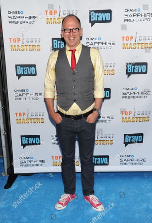 """Stock Picture of Top Chef Master Judge James Oseland attends """"Top Chef Masters"""" Season 5 Premiere Tasting Event presented by Chase Sapphire Preferred and Bravo at 82 Mercer on in New York"""