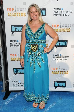 """Stock Picture of Chef Jennifer Jasinski attends """"Top Chef Masters"""" Season 5 Premiere Tasting Event presented by Chase Sapphire Preferred and Bravo at 82 Mercer on in New York"""