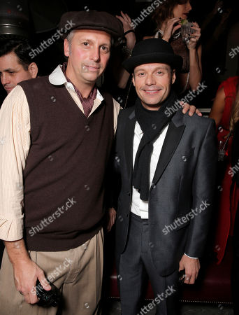 Photographer and Publisher Steve Shaw and Ryan Seacrest attend Treats! Magazine's 3rd Annual Trick or Treats! Halloween Party presented by Jose Cuervo on in Los Angeles
