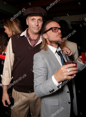 Photographer and Publisher Steve Shaw and Randall Slavin attend Treats! Magazine's 3rd Annual Trick or Treats! Halloween Party presented by Jose Cuervo on in Los Angeles