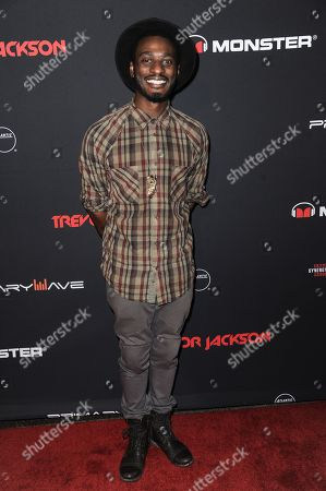 Stock Picture of Timothy Bloom arrives at Trevor Jackson's 18th Birthday Party, in Los Angeles