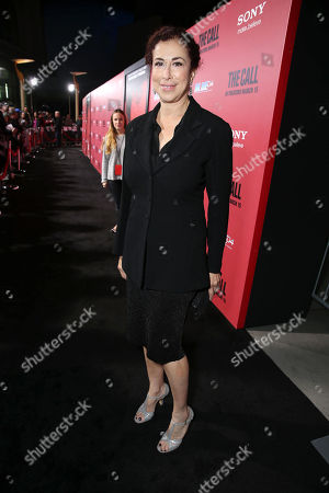 Roma Maffia at TriStar Pictures World Premiere of 'The Call', held at the ArcLight Hollywood on in Los Angeles