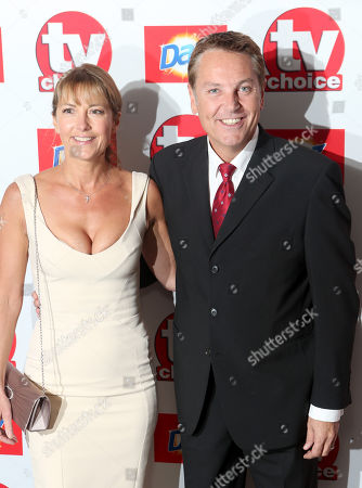 Anne-Marie Conley and Brian Conley attend the TV Choice Awards 2013 at the Dorchester Hotel, in London