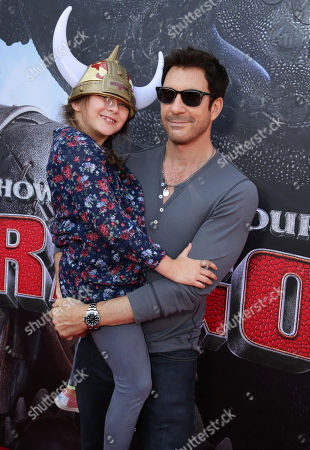 Charlotte Rose McDermott and Dylan McDermott seen at the Twentieth Century Fox and DreamWorks Animation Los Angeles Premiere of 'How to Train Your Dragon 2', in Westwood, Calif