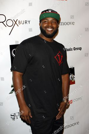 """Stock Image of Actor Craig Wayans arrives at UK """"X Factor"""" singing sensation Luigiano Paals single release party for """"Girls, Girls, Girls"""" featuring Snoop Lion on at Roxbury nightclub in Los Hollywood, California"""