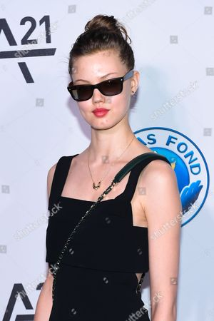 Stock Image of Model Lindsey Wixon attends the Unitas Gala against sex trafficking at Capitale, in New York
