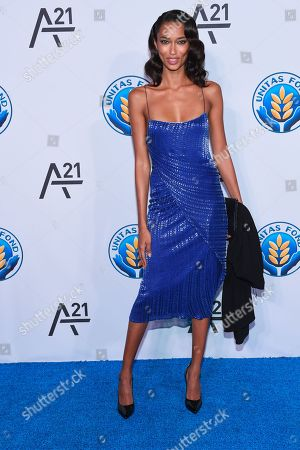 Stock Picture of Model Anais Mali attends the Unitas Gala against sex trafficking at Capitale, in New York