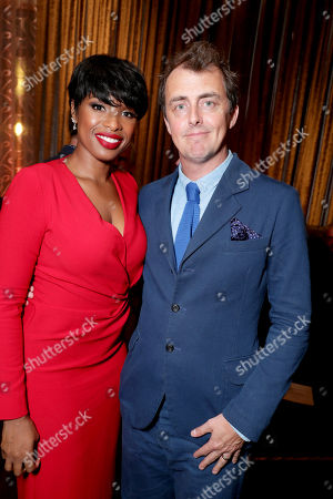 """Jennifer Hudson and Director/Writer Garth Jennings seen at Universal Pictures """"Sing"""" after party at the 2016 Toronto International Film Festival, in Toronto"""