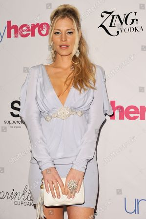 Stock Photo of Cynthia Kirchner arrives at the Unlikely Heroes Red Carpet Spring Benefit, in Los Angeles