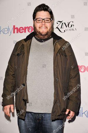 Charley Koontz arrives at the Unlikely Heroes Red Carpet Spring Benefit, in Los Angeles