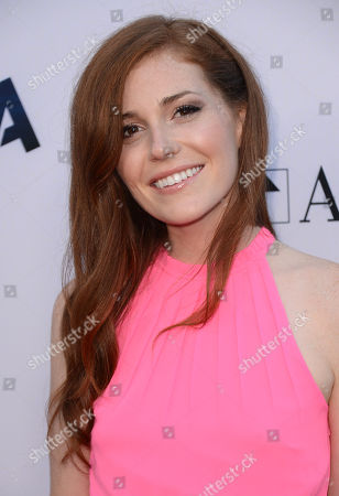"""Haley Finnegan arrives at the US premiere of """"Paranoia"""" at the DGA Theatre on in Los Angeles"""