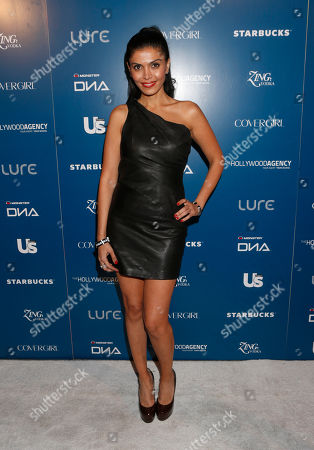 Sheila Shaw attends the US Weekly AMA After Party for The Wanted at Lure on in Los Angeles, California