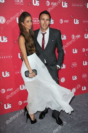"""Lydia McLaughlin, left, and Doug McLaughlin arrive at US Weekly's """"Hot Hollywood Style"""" Issue Event at The Emerson Theatre on in Los Angeles"""