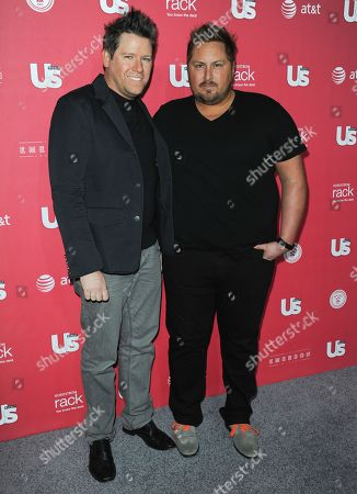 "Bill Horn, left, and Scout Masterson arrive at US Weekly's ""Hot Hollywood Style"" Issue Event at The Emerson Theatre on in Los Angeles"