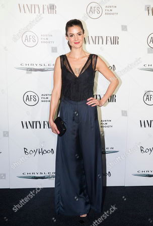 Tiffany Brouwer attends the Vanity Fair and Chrysler Celebrate Richard Linklater and the cast of Boyhood, in West Hollywood, CA