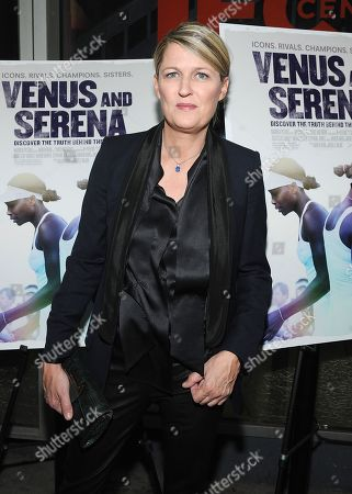 Stock Image of Director Maiken Baird attends the Venus and Serena Special Screening at the IFC Center on in New York