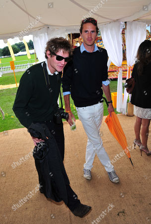 Tara Ferry, Otis Ferry poses at the Veuve Clicquot Gold Cup Polo at Cowdrey Park on in Midhurst