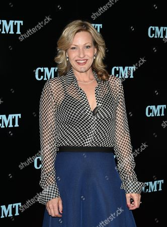 Actress Joey Lauren Adams attends the Viacom Kids and Family Group Upfront event at Jazz at Lincoln Center's Frederick P. Rose Hall, in New York