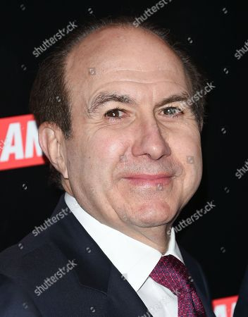 Stock Image of President, CEO and Chairman of Viacom Philippe Dauman attends the Viacom Kids and Family Group Upfront event at Jazz at Lincoln Center's Frederick P. Rose Hall, in New York