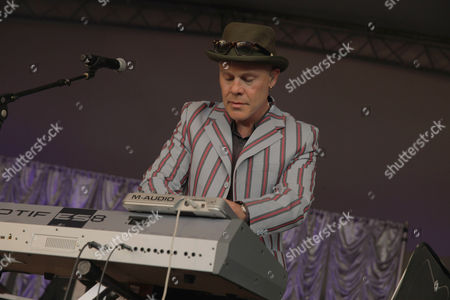 Thomas Dolby performs at the Voodoo Experience, in New Orleanse