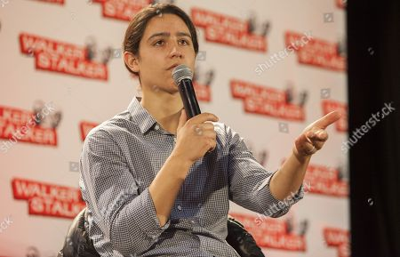 Stock Picture of Lorenzo Henrie appears at the Walker Stalker convention during the Fear The Walking Dead panel, at the Donald E. Stephens Center in Rosemont, IL