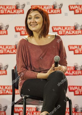 Stock Photo of Anastasia Baranova appears at the Walker Stalker convention during the Z Nation panel, at the Donald E. Stephens Center in Rosemont, IL