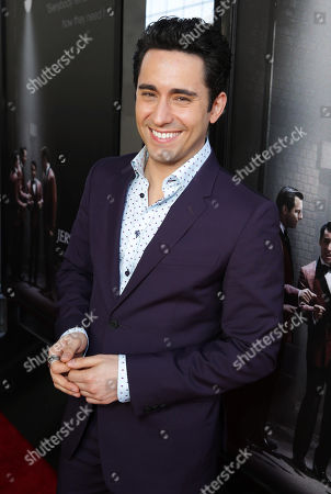 John Lloyd Young seen at the Warner Bros. Premiere of 'Jersey Boys' at the 2014 Los Angeles Film Festival held at Regal Cinemas LA Live Stadium 14, in Los Angeles