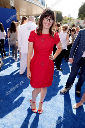 Stock Photo of Katie Crown seen at Warner Bros. Pictures and Warner Animation Group World Premiere of STORKS at the Regency Village Theater, in Los Angeles
