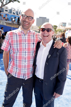 Co-Director Doug Sweetland and Producer Brad Lewis seen at Warner Bros. Pictures and Warner Animation Group World Premiere of STORKS at the Regency Village Theater, in Los Angeles