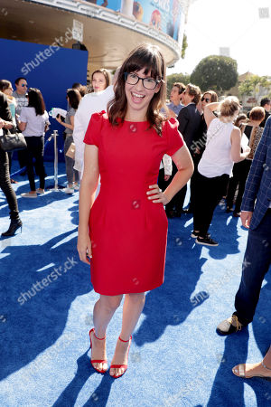 Stock Picture of Katie Crown seen at Warner Bros. Pictures and Warner Animation Group World Premiere of STORKS at the Regency Village Theater, in Los Angeles