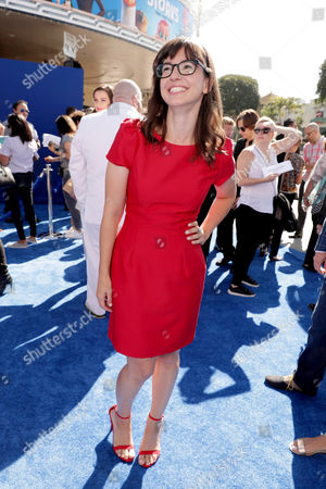 Katie Crown seen at Warner Bros. Pictures and Warner Animation Group World Premiere of STORKS at the Regency Village Theater, in Los Angeles