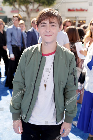 Anton Starkman seen at Warner Bros. Pictures and Warner Animation Group World Premiere of STORKS at the Regency Village Theater, in Los Angeles