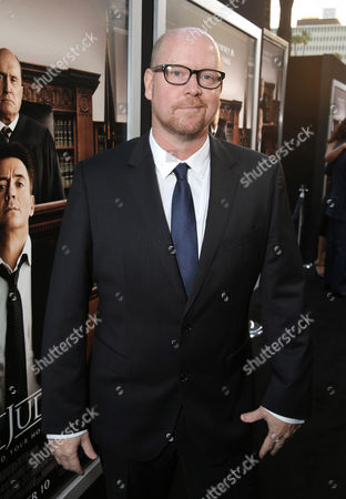 """Stock Picture of Screenwriter Nick Schenk seen at Warner Bros. Picture's Los Angeles Premiere of """"The Judge"""" held at Samuel Goldwyn Theatre, AMPAS on Wed, in Los Angeles"""