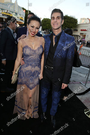 "Etty Lau Farrell and Perry Farrell seen at Warner Bros. Premiere of ""Entourage"" held at Regency Village Theatre, in Westwood, Calif"