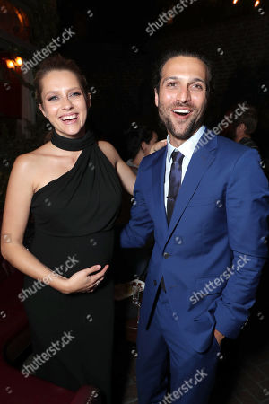 """Exclusive - Teresa Palmer and Alexander DiPersia seen at Warner Bros. Premiere of """"Lights Out"""" at TCL Chinese Theatre, in Los Angeles"""