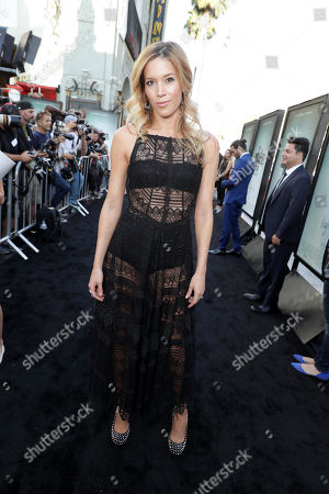 """Alicia Vela-Bailey seen at Warner Bros. Premiere of """"Lights Out"""" at TCL Chinese Theatre, in Los Angeles"""